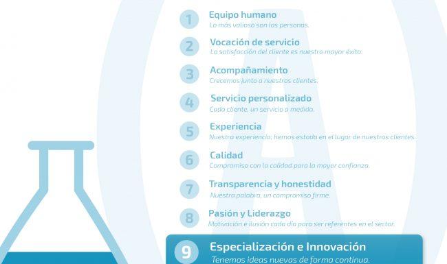 especialización e innovación