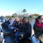 En barca por la Albufera en la actividad de Ambientalys