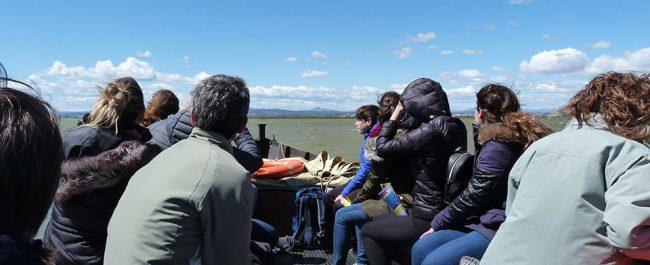 Participantes actividad familiar en la Albufera - Ambientalys