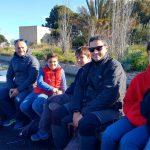 Familias en la actividad de Ambientalys por la Albufera