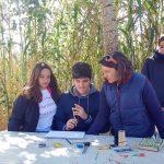 Niños aprendiendo en la actividad familiar en la Albufera - Ambientalys